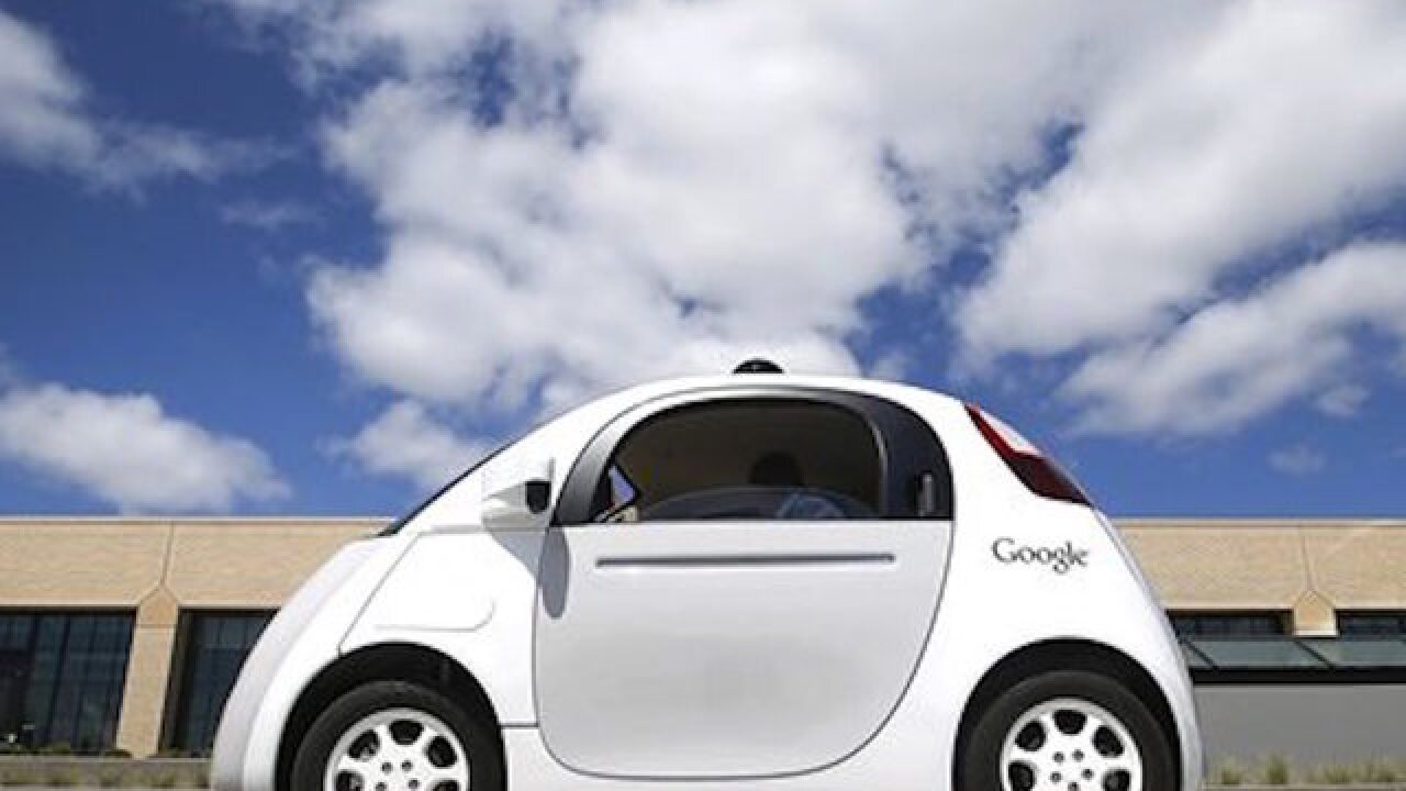 California pushing to legalize self-driving cars
