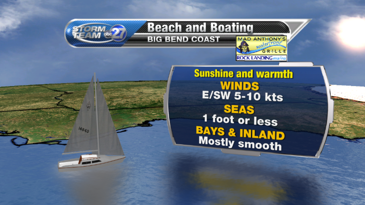 Beach and Boating forecast A (05/10/2017)