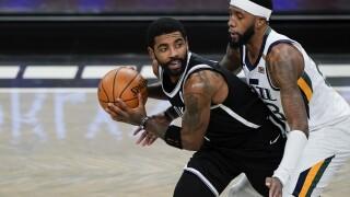 Jazz Nets Basketball
