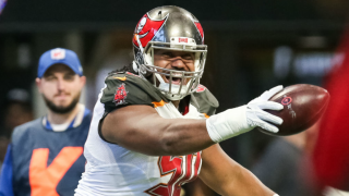 Vita Vea touchdown catch celebration