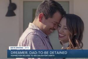 Husband detained by ICE hopes to be released before child's birth