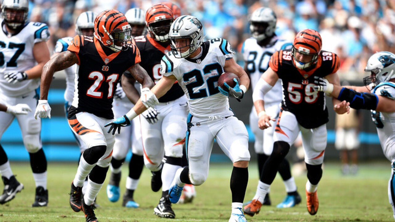 Bengals' defense surprised, flattened by Panthers