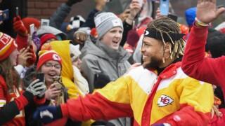 Super Bowl Parade Football