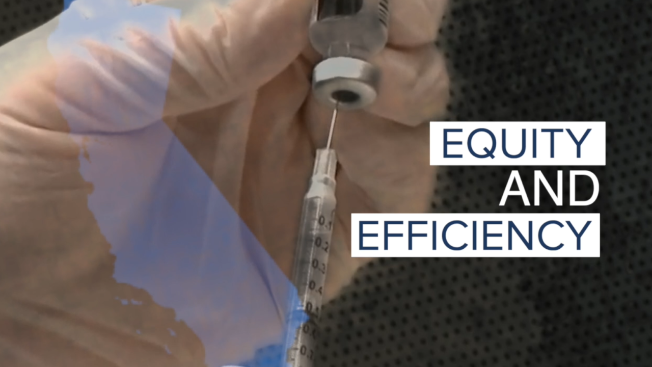 equity and efficiency vaccine