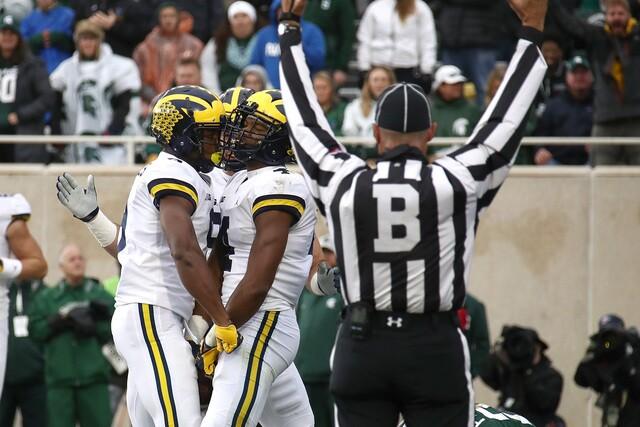 PHOTO GALLERY: No. 6 Michigan beats No. 24 Michigan State