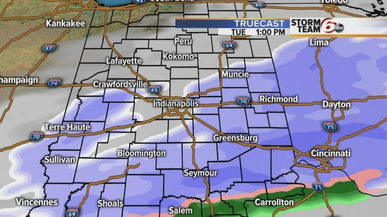 TIMELINE: When will you see snow near you?