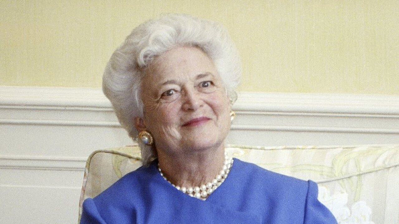 AP Barbara Bush - Doug Mills