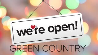 We're Open Small business Saturday