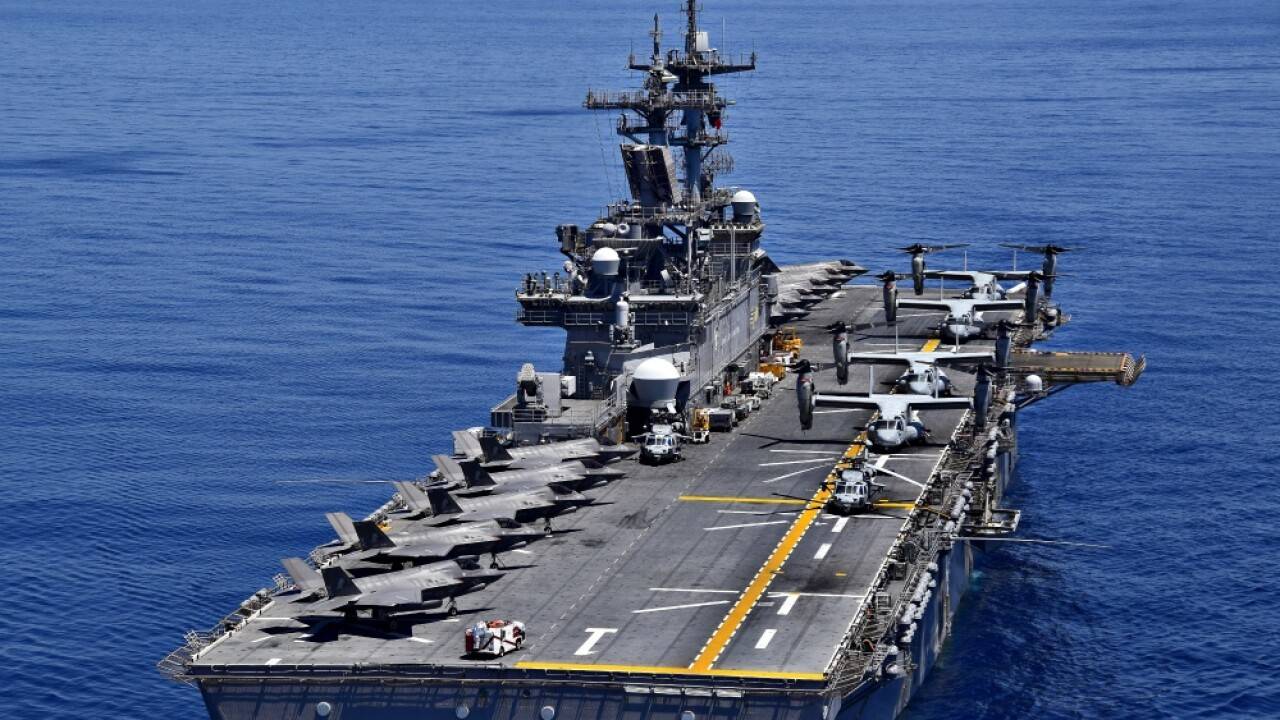 After two years away, the USS Wasp will be back in Norfolk on November 18
