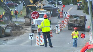 Construction effects traffic in Lakewood