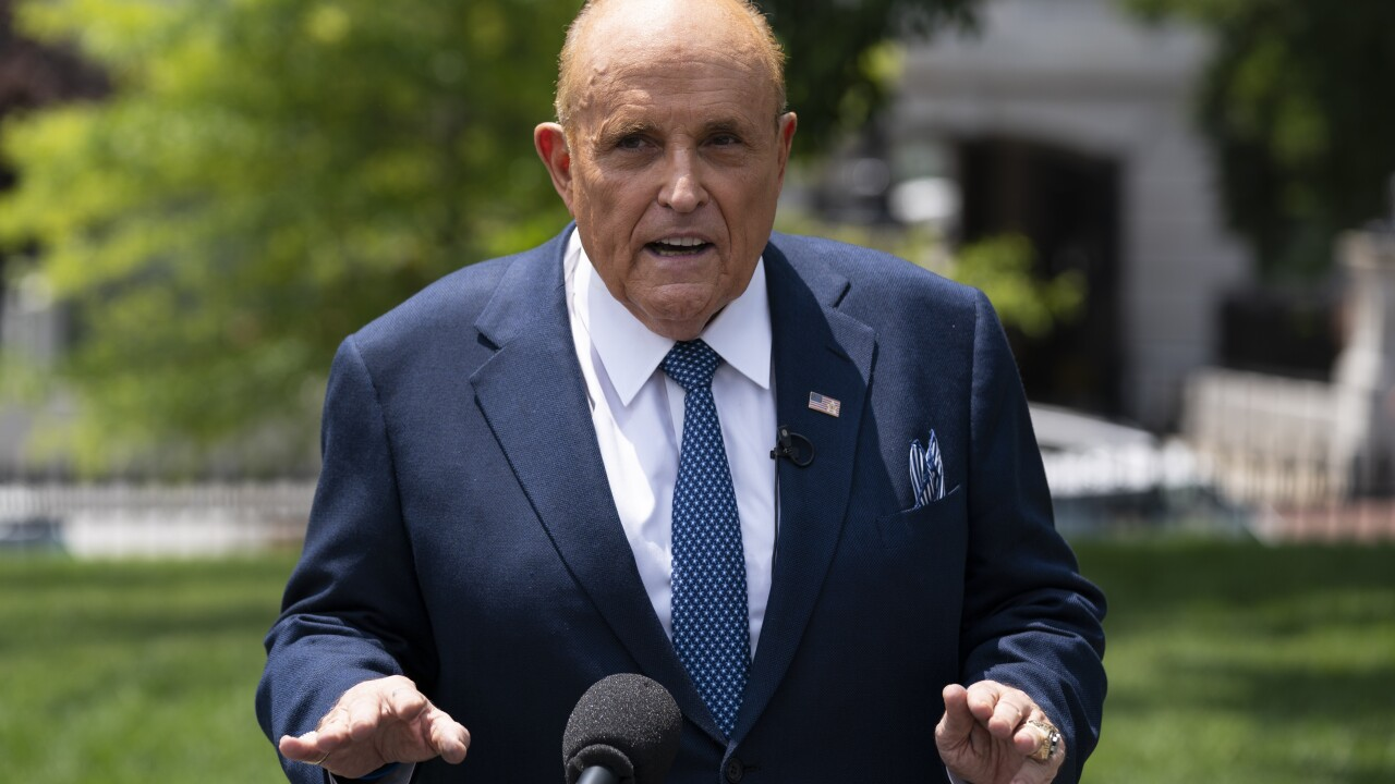Rudy Giuliani to appear in front of Michigan House Oversight Committee on Wednesday