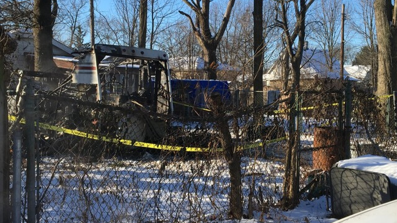Man found dead inside camper after fire
