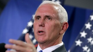 Vice President Mike Pence makes an unannounced trip to Iraq