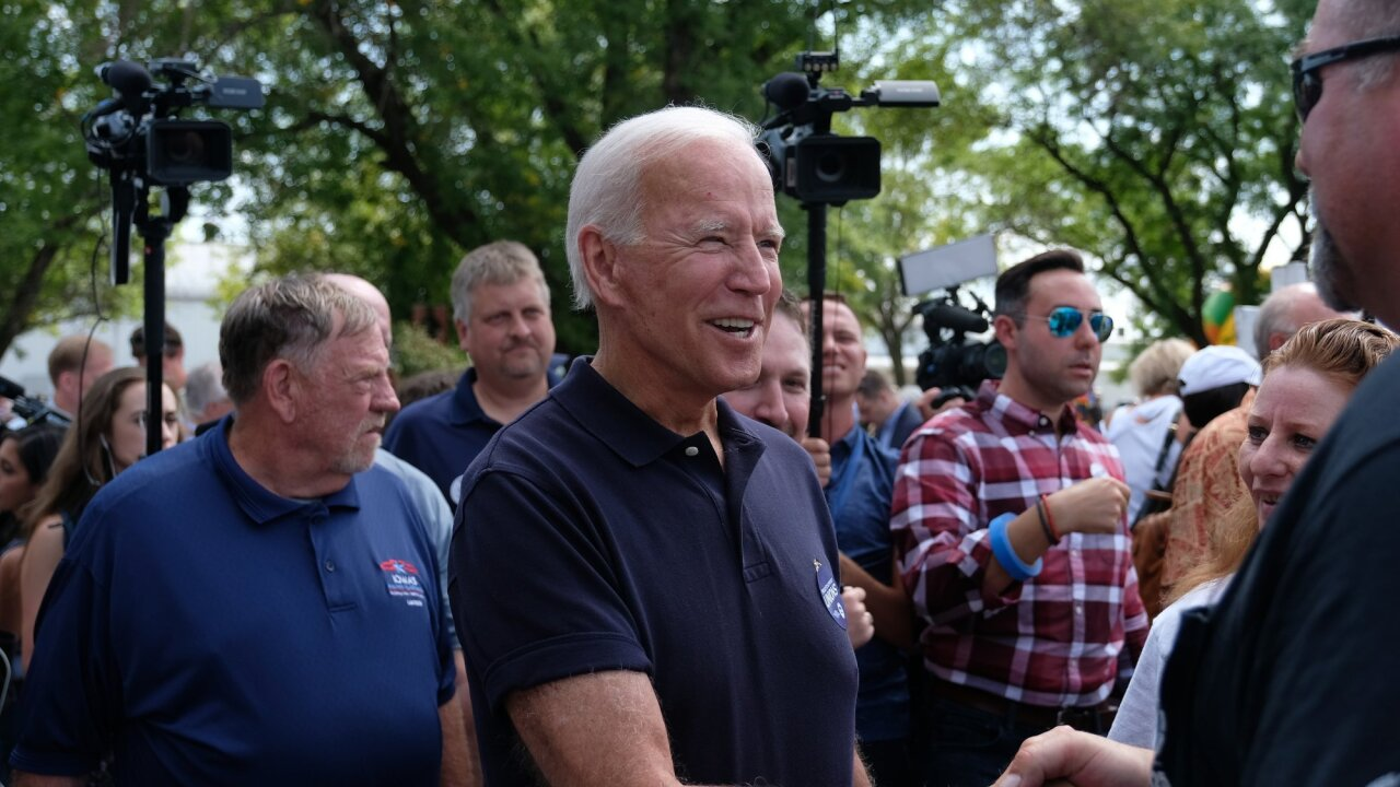 Biden campaign signals it's preparing for a long primary fight