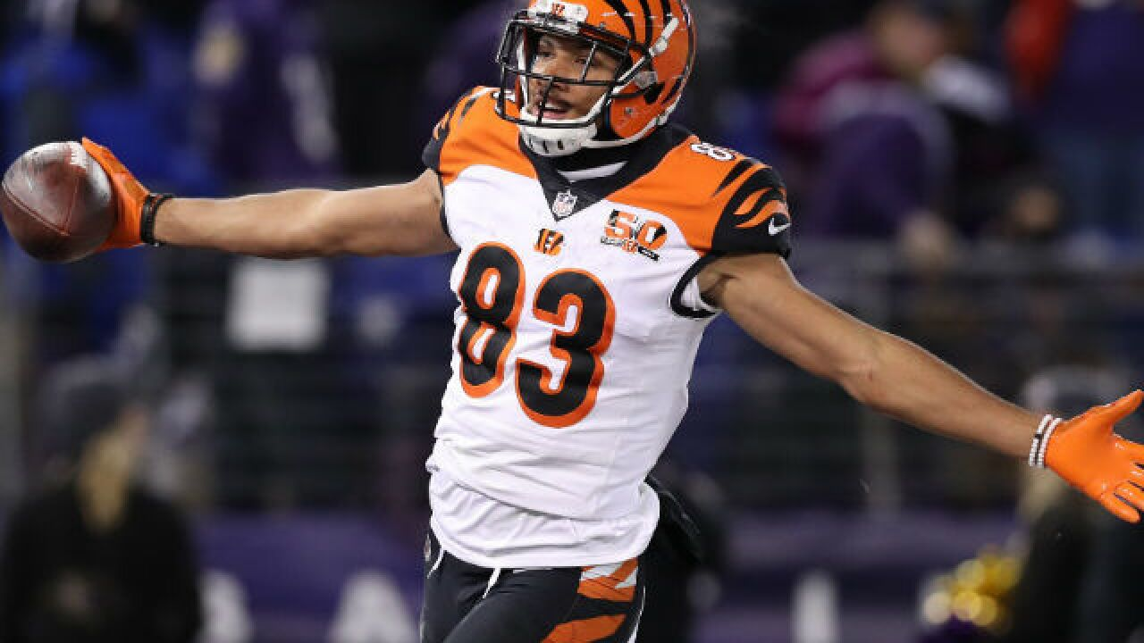 Buffalo Bills fans donate to Tyler Boyd's cause, too