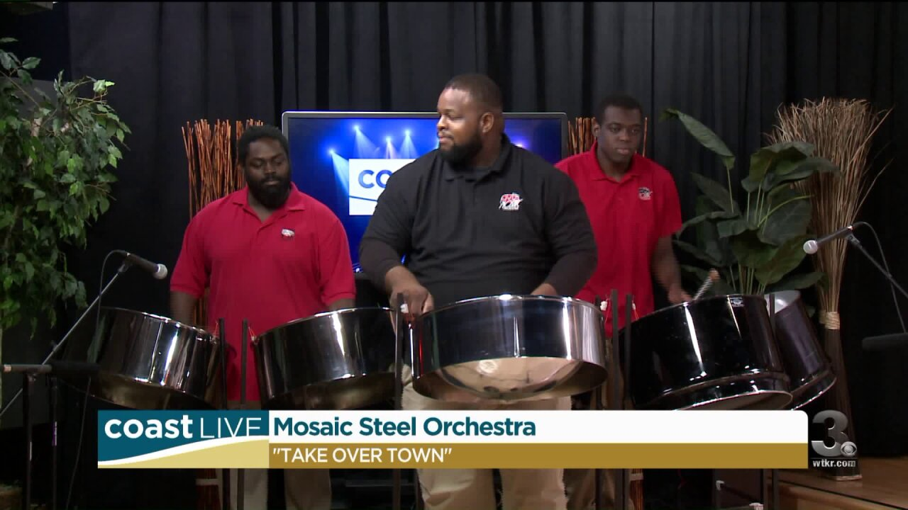 The Mosaic Steel Orchestra on Coast Live
