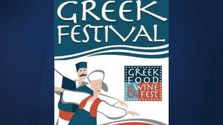 Greek Food & Wine Fest logo