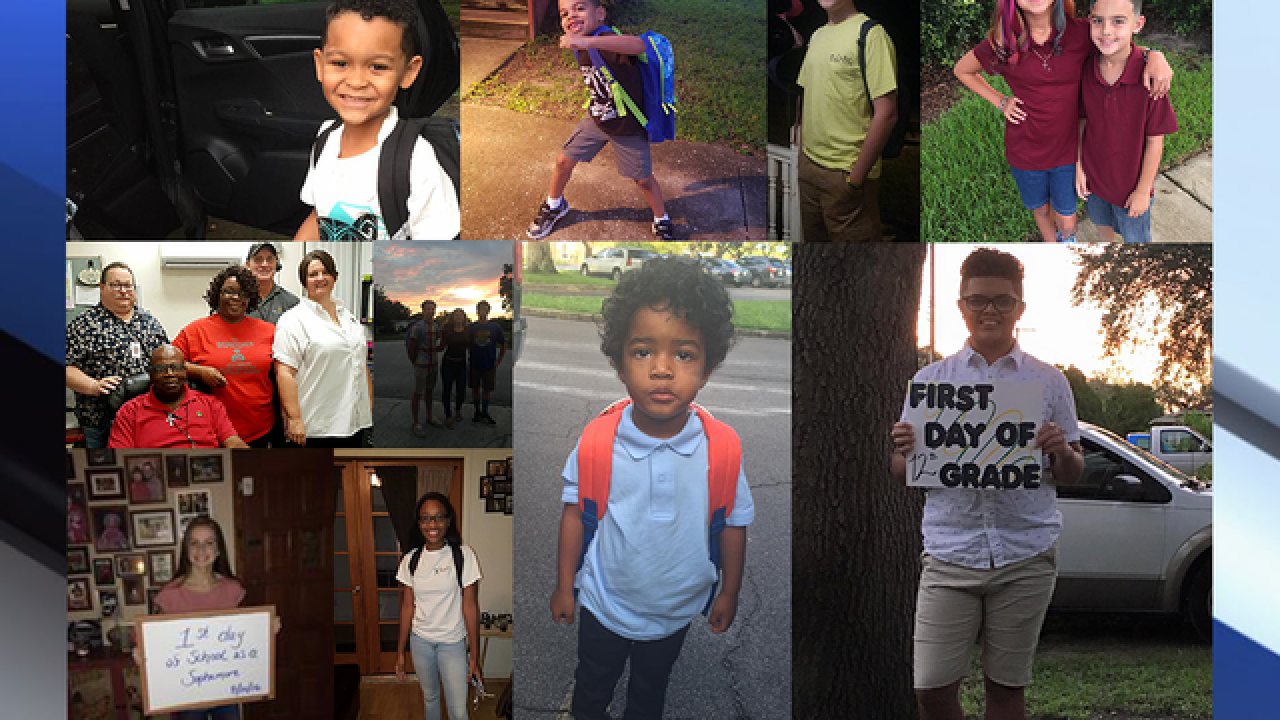 Share your Back to School pictures with us