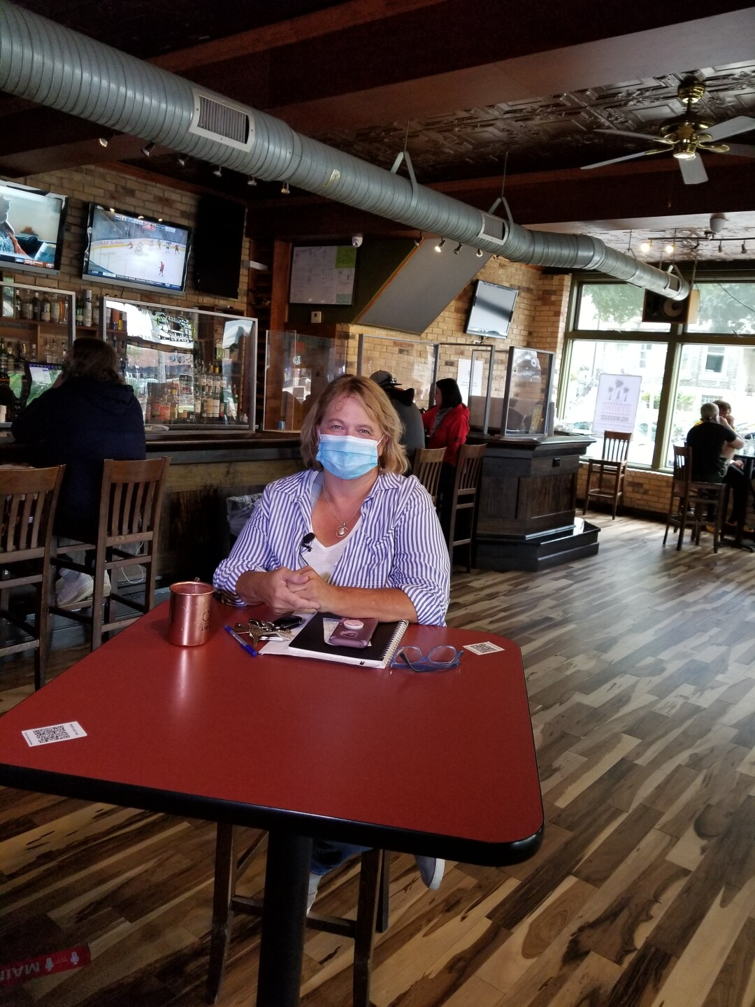 Points East Pub owner said while their procedures might have changed, their food is still good as ever.