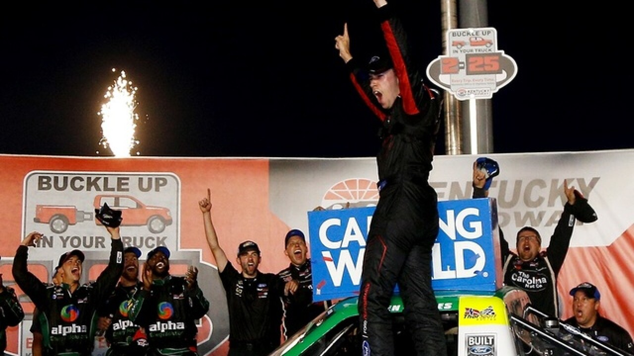 Louisville native Ben Rhodes wins in front of home state fans at Kentucky Speedway