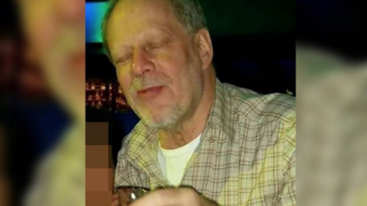 Dangerous explosive substance, ammo found in Las Vegas shooter's car
