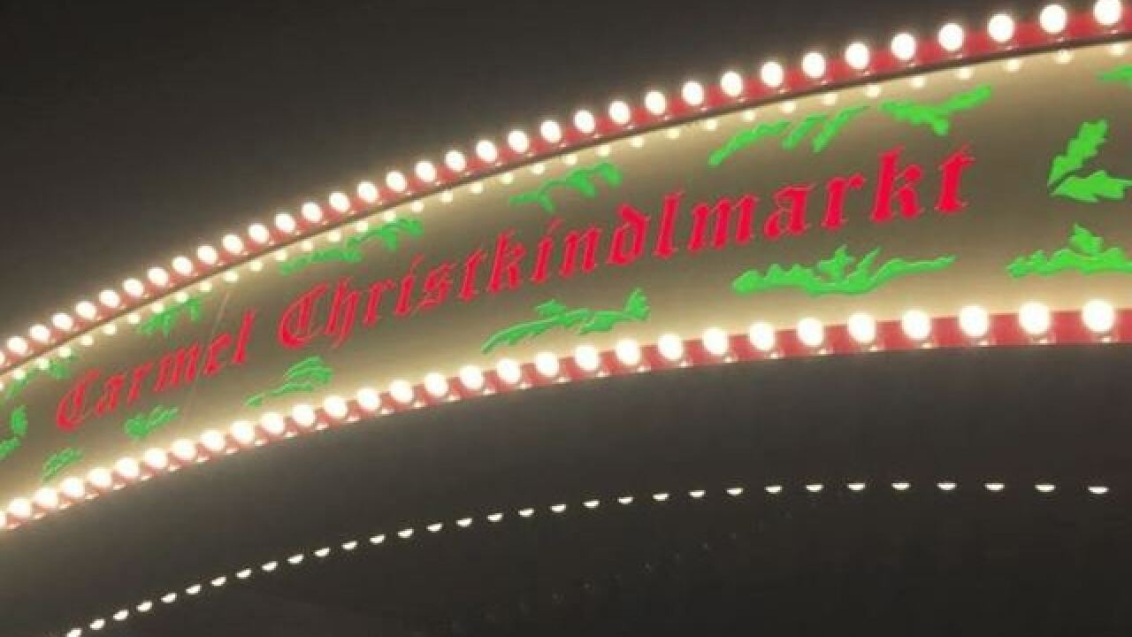 Carmel Christkindlmarkt and Ice rink opening delayed until Sunday because of weather