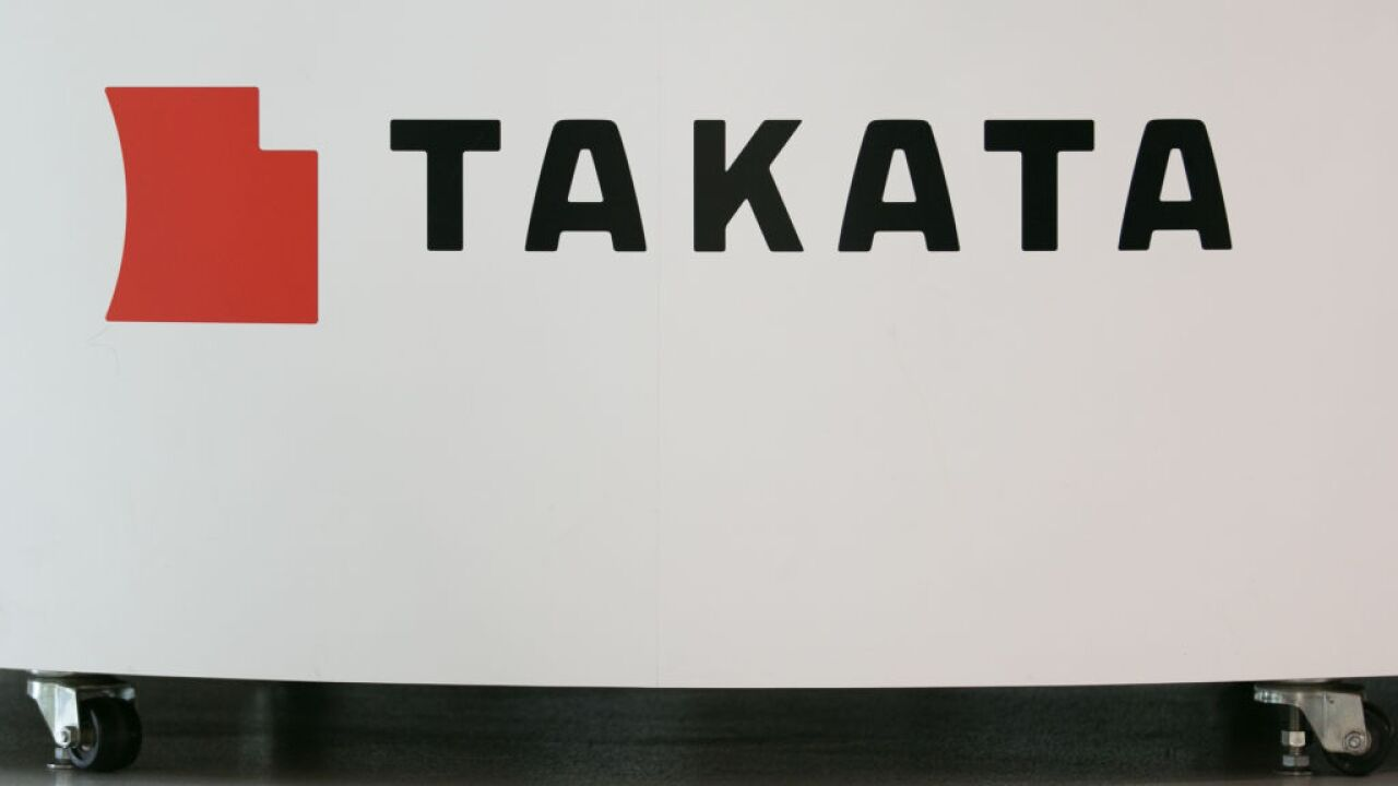 Takata Corp. Files For Bankruptcy