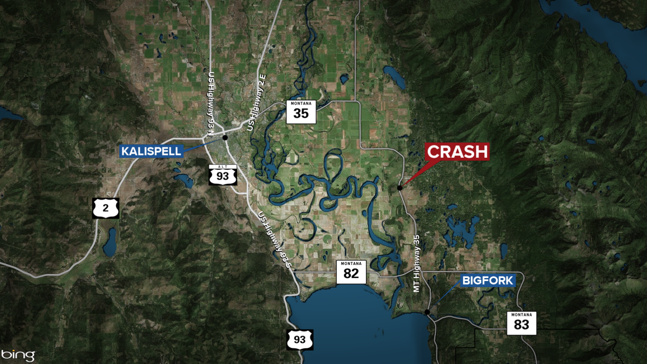 Kalispell fatal accident map