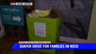 GR business hosting diaper drive for area families in need