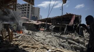 Israel Palestine bombing