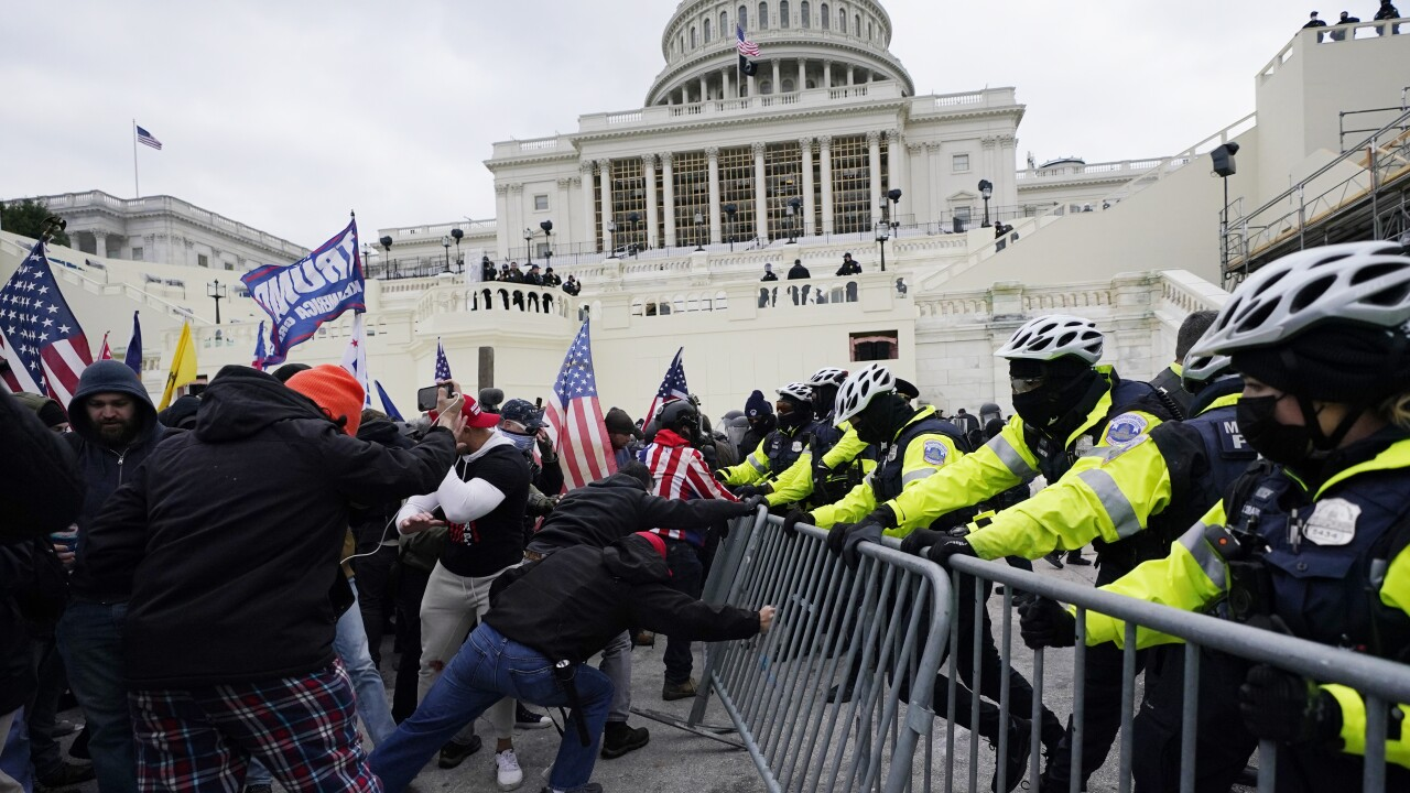 Capitol Breach America the Unstable
