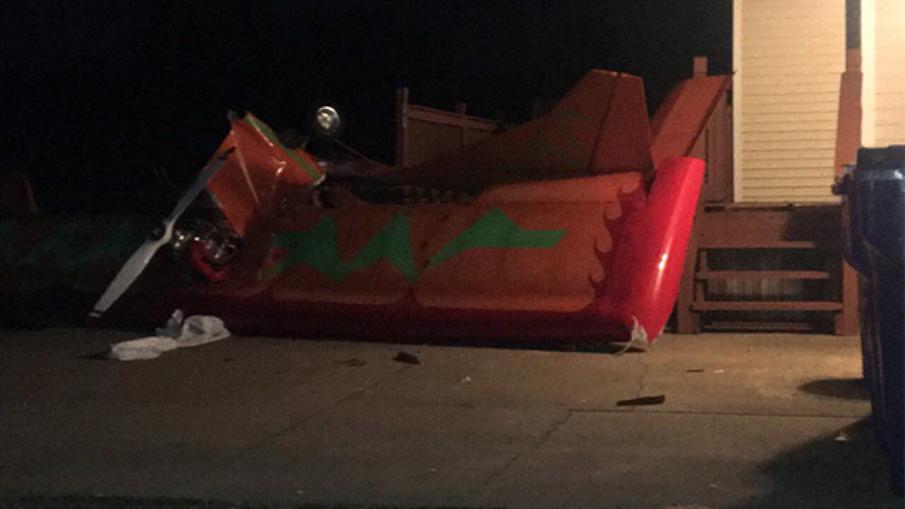 Plane crashes into home in Portage County
