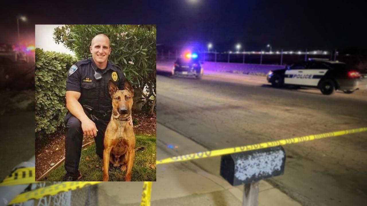 K-9 officer shot and killed