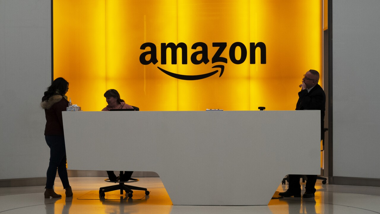 Amazon to host virtual 'career day' as it seeks to fill 33,000 positions