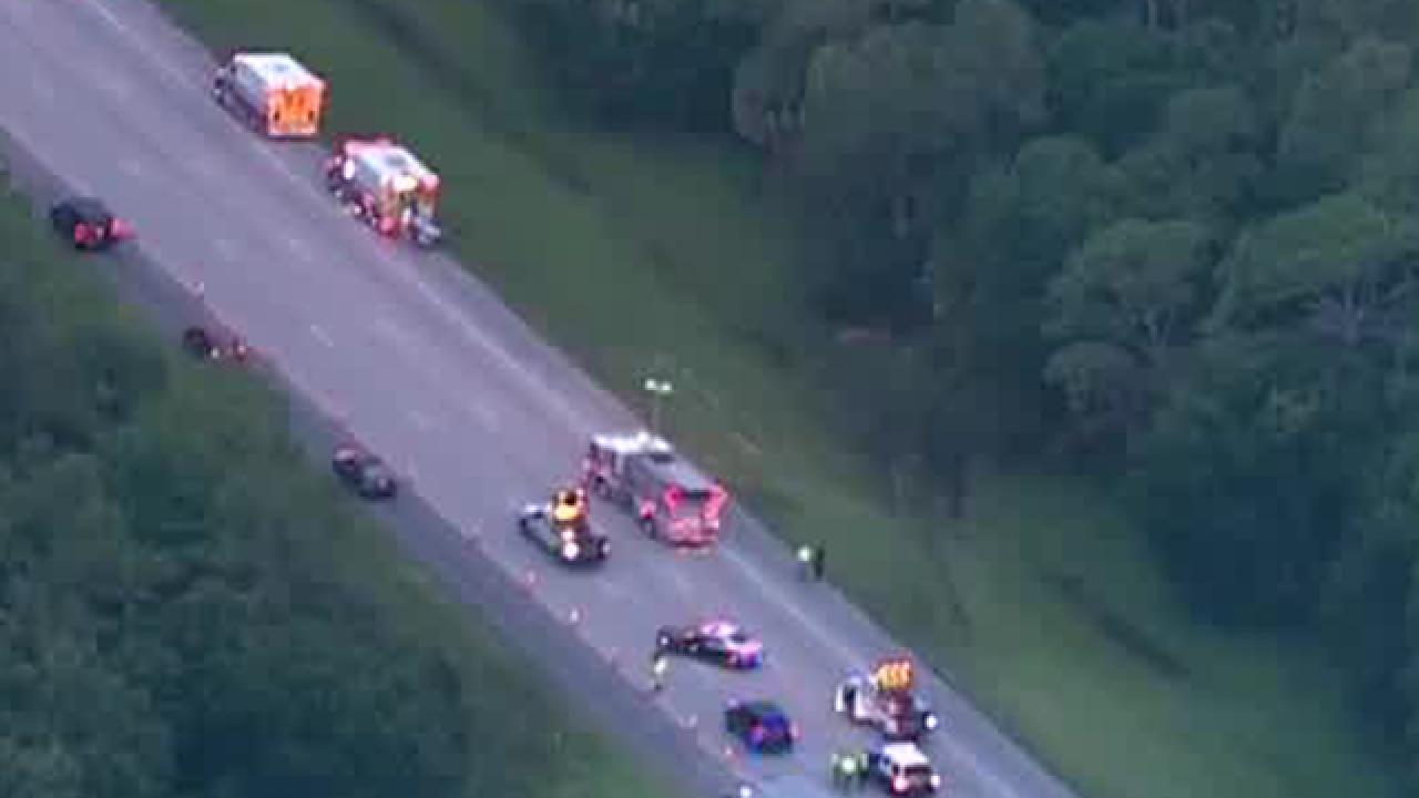 Deadly crash shuts NB I-95 in Martin County