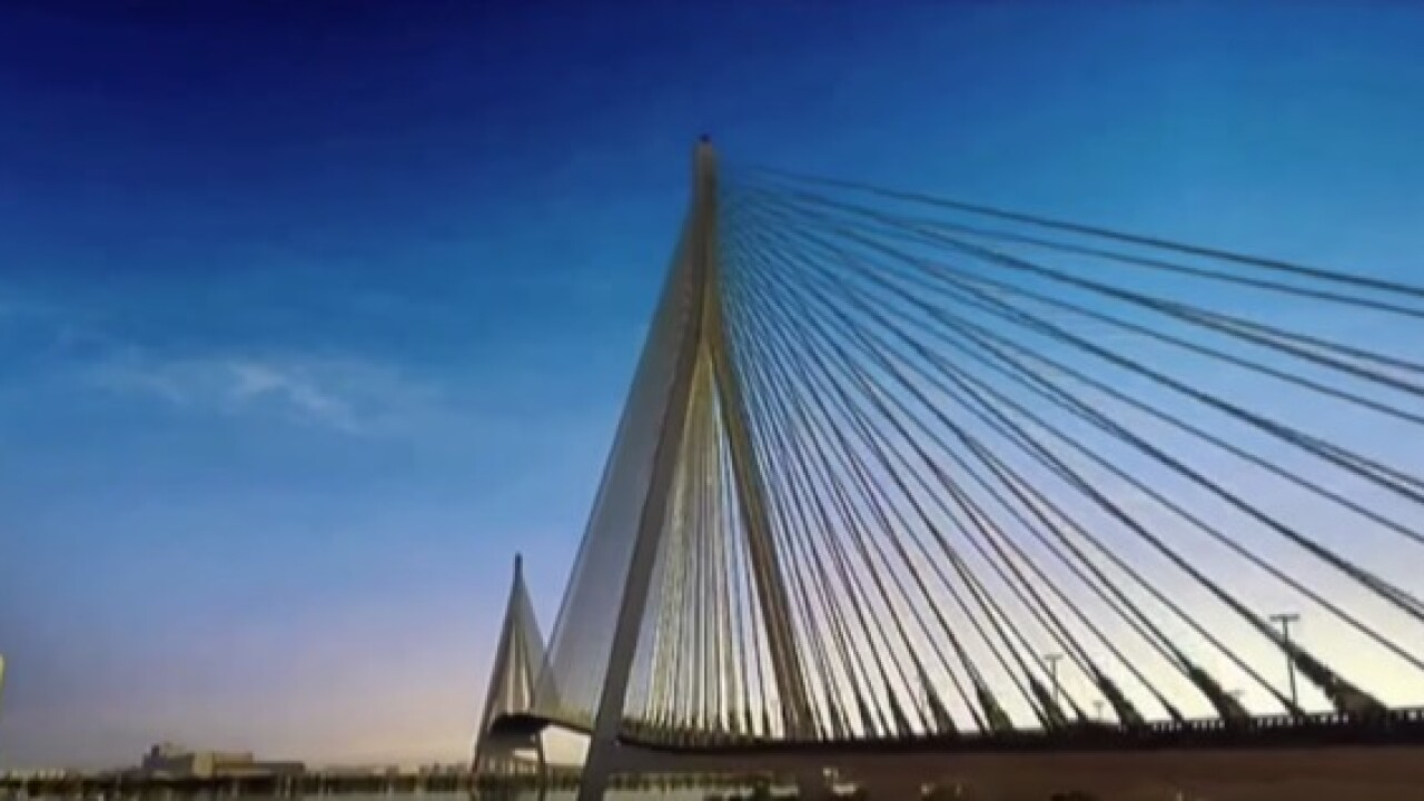 Gordie Howe International Bridge expected to open to traffic in 2024