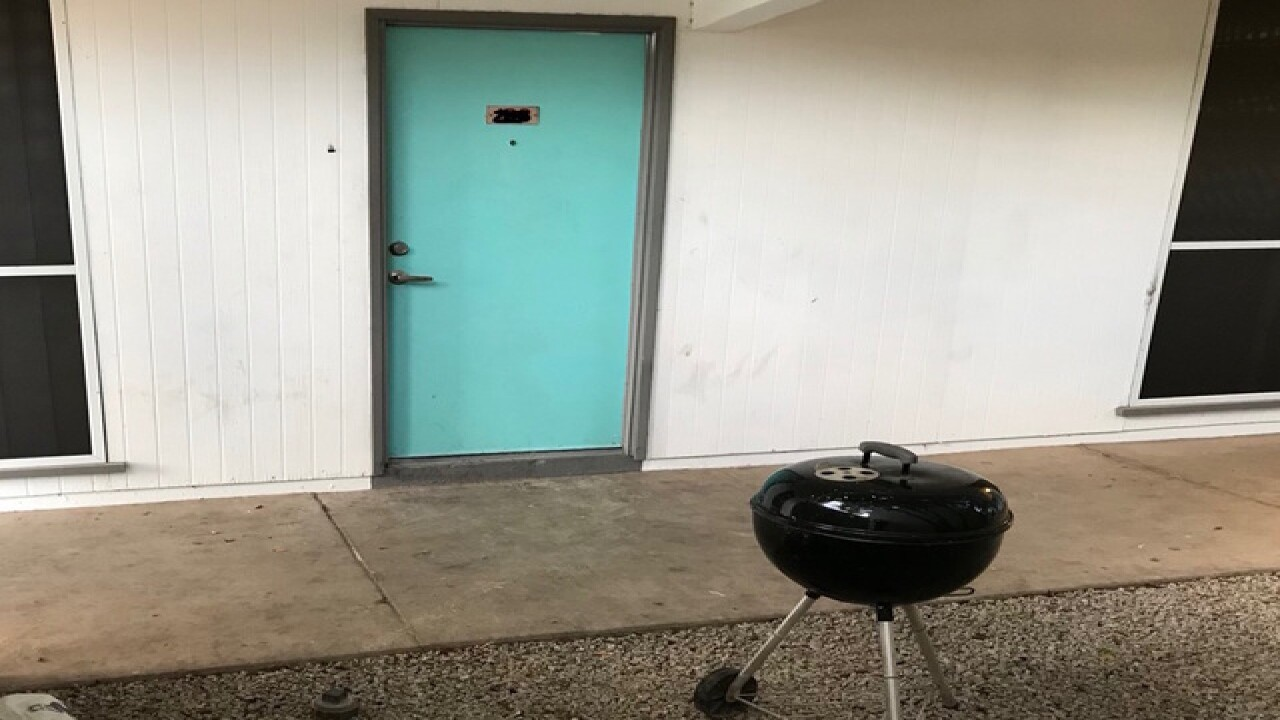 Phoenix family of 4 hospitalized after using grill to warm apartment