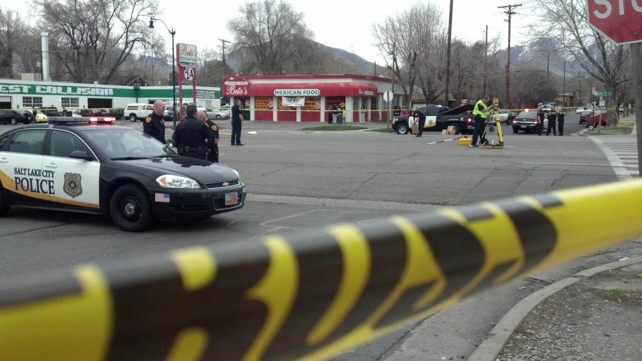 6-year-old girl struck by car in SLC has died