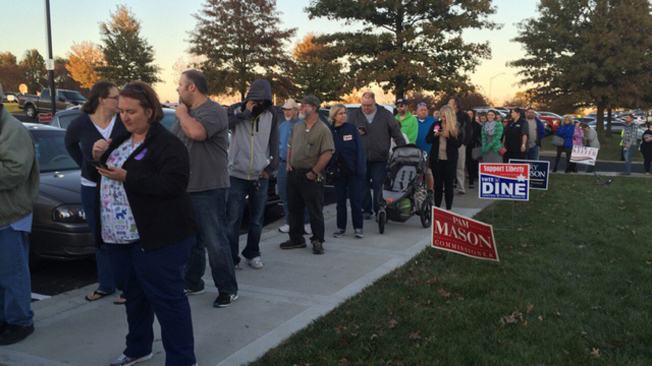 MO, KS voters head to the polls on Election Day