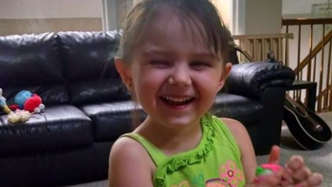 Girl found in bathtub died of blunt force trauma