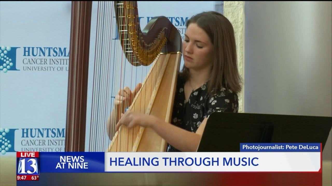 Healing echoes through halls of Huntsman Cancer Institute thanks to volunteer musicians