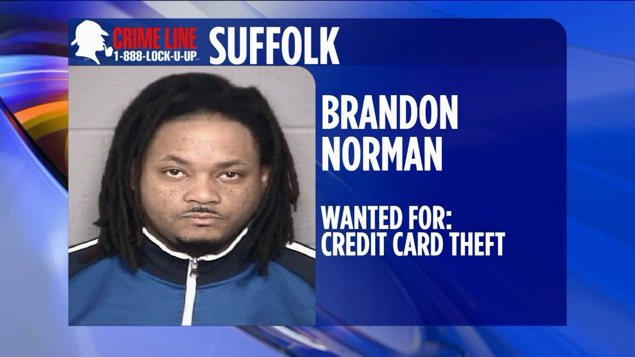 Suffolk Police looking for man accused of stealing debitcard