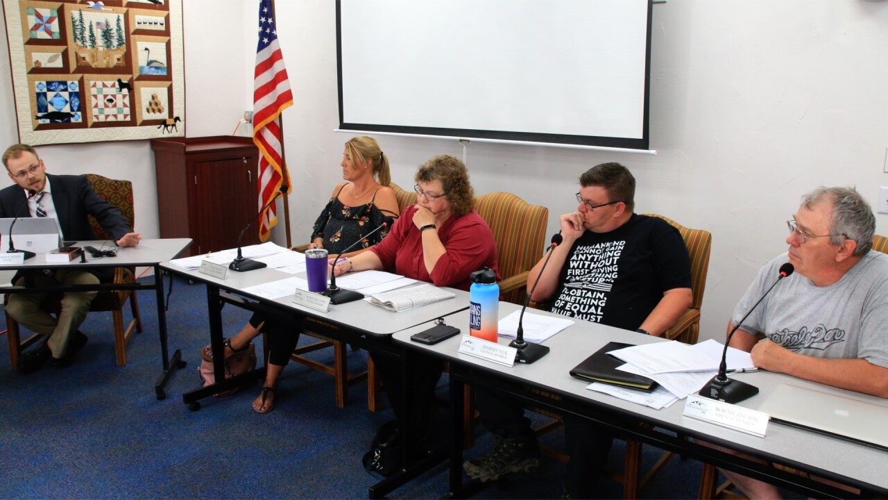 Stevensville council erupts in conduct dispute