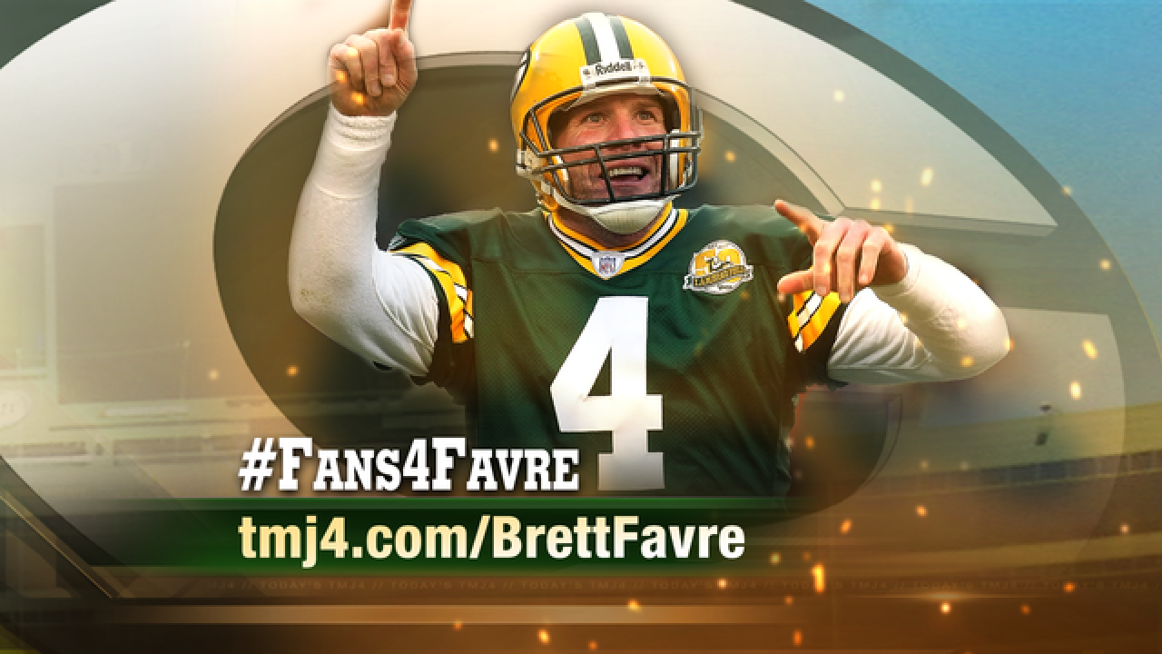 5 Things to know about Favre's Lambeau ceremony