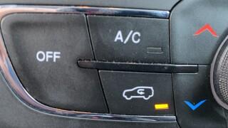 Air recirculation button