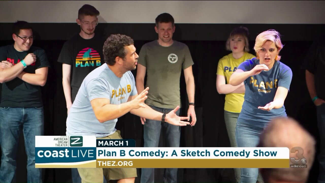 A preview Plan B Comedy's variety and sketch show on CoastLive