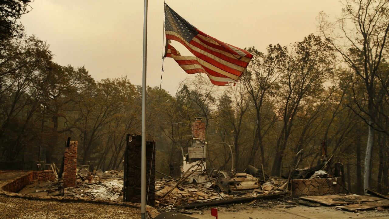 Death toll hits 25 from California fires as search goes on