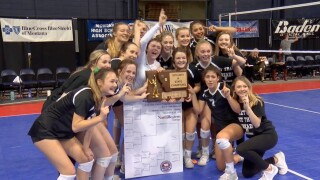 Billings Central repeats as Class A state volleyball champion