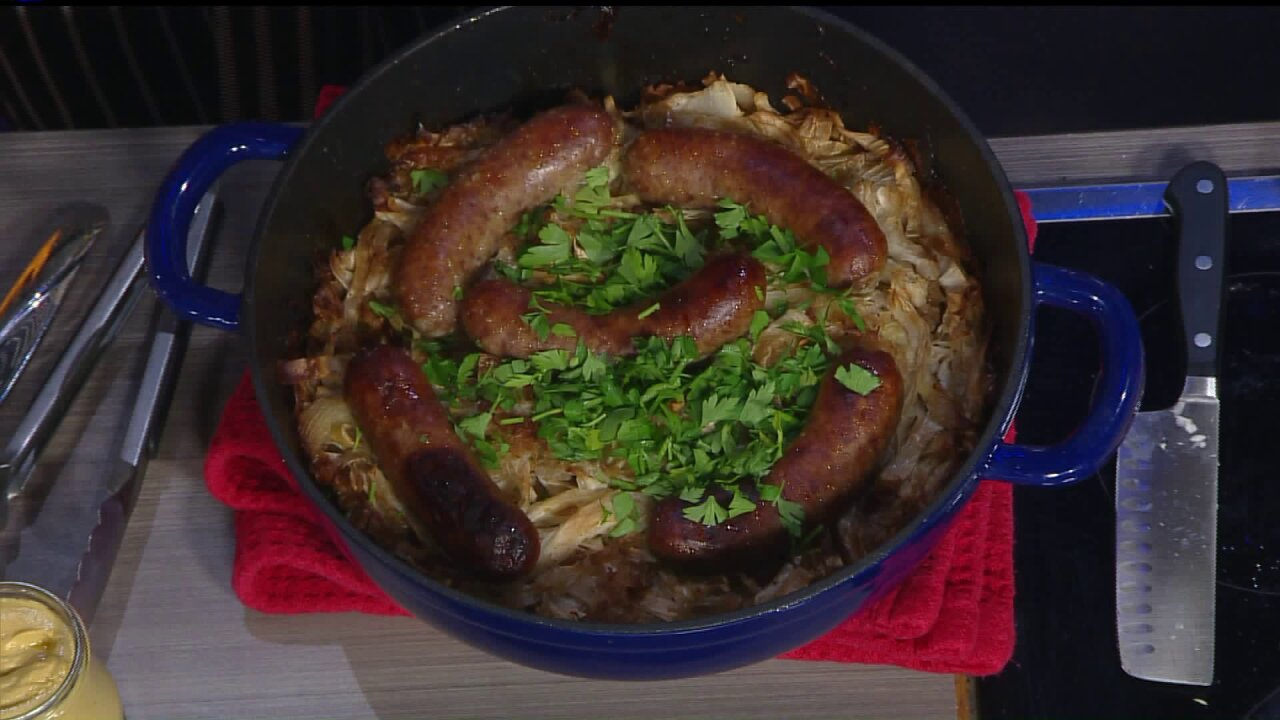Shaynefully Delicious 'Kraut and Sausage…the perfectcombination