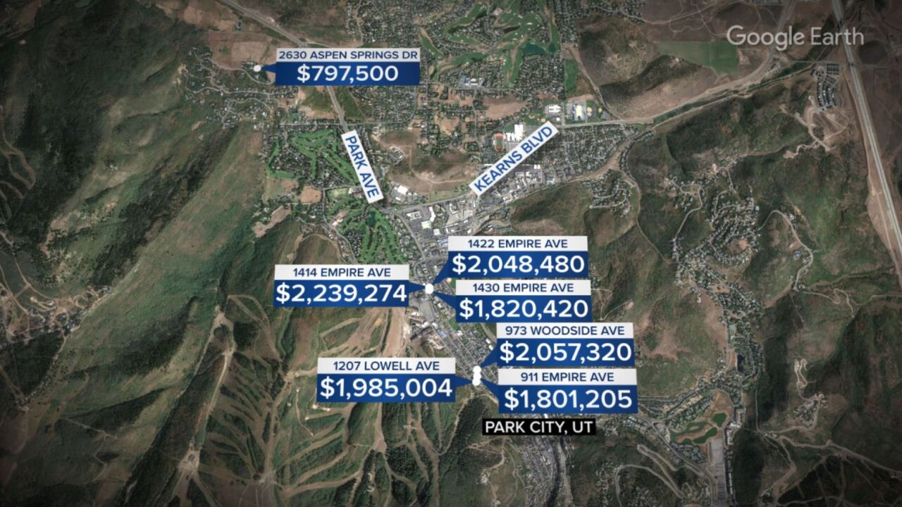 The late Tony Hsieh purchased millions of dollars worth of real estate in Park City, UT, just months before his death in Nov. 2020